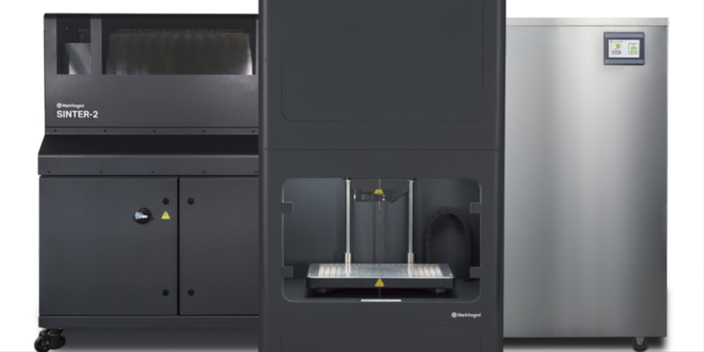 cara kerja printing markforged